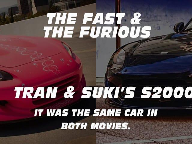 Τα δύο πιο ταλαντούχα Honda S2000s σε γρήγορες και μανιώδεις ήταν το ίδιο αυτοκίνητο !?