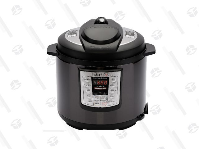 Get a Black Stainless Steel 6 Qt. Instant Pot for Only $55