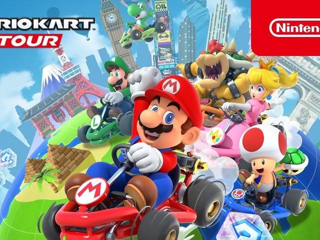 Mario Kart Tour เกมมือถือรุ่นต่อไปของ Nintendo กำลังจะวางจำหน่ายเต็มในวันที่ 25 กันยายน