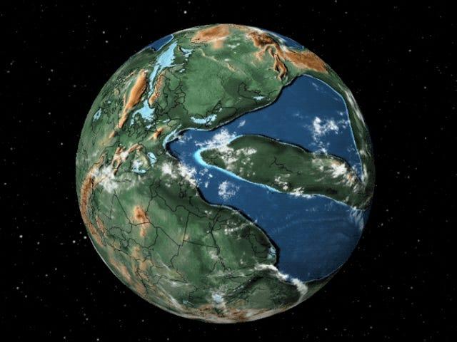 Este mapa te mostrará dónde estaba tu casa hace 300 millones de años en el continente Pangea