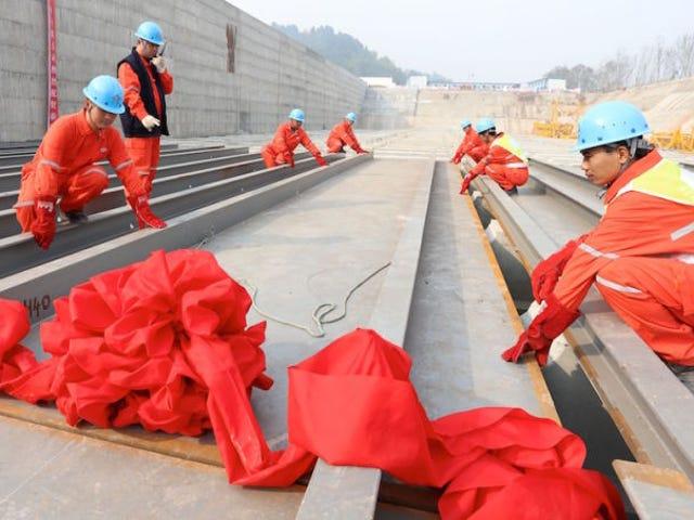 Comienza la construcción del Titanic 2.0, den kinesiska delstaten Transatlántico