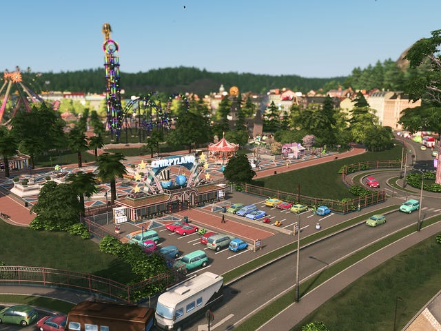 Oh, <i>Cities: Skylines</i> Is Now Also A Theme Park Game