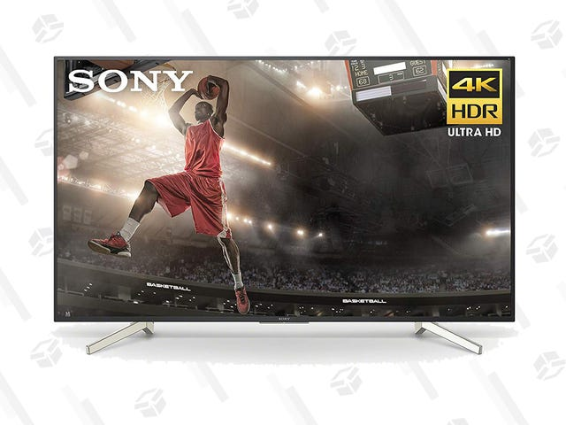 "Snag a 60"" Sony 4K TV for $350 Less, Thanks to Amazon's Gold Box"