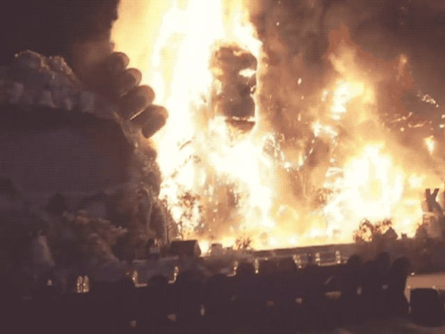 Vad är skrämmare än King Kong?  <i>King Kong on Fire</i>