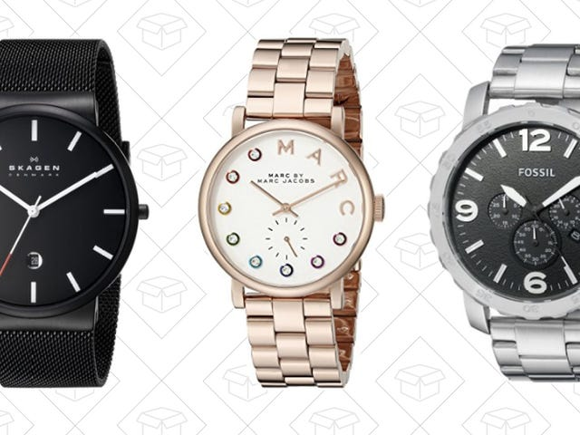 Don't Let Time Tick Away on This One-Day Watch Sale from Amazon