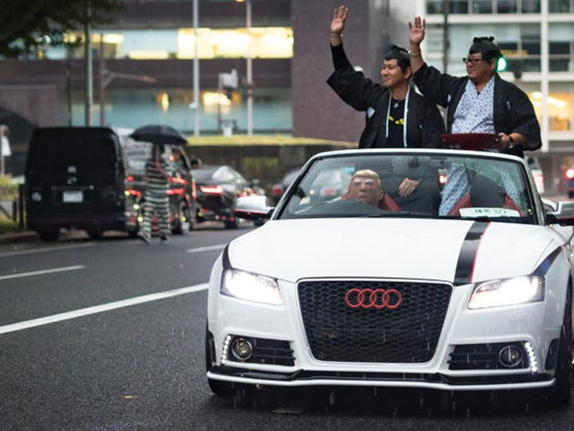 Japan's Halloween Car Party Is Out Of This World