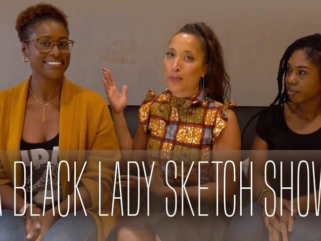 블랙 레이디 스케치 쇼는 당신을 웃게 캐스트 준비를 보여줍니다