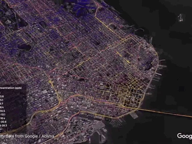 """<a href=https://earther.com/google-is-mapping-californias-air-pollution-in-mesmeriz-1820259065 data-id="""""""" onclick=""""window.ga('send', 'event', 'Permalink page click', 'Permalink page click - post header', 'standard');"""">캘리포니아 주 대기 오염에 관한 정보를 제공하는 Google, Mesmerizing Detail</a>"""