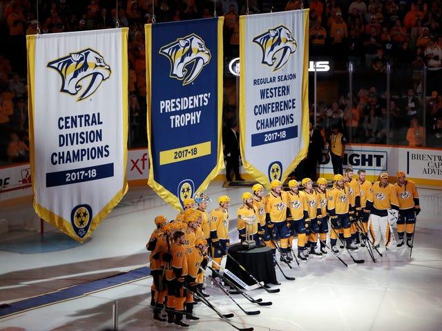 This Predators Banner Is So Embarrassing
