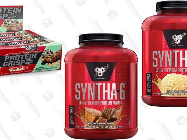 Flex Your Savings Muscles With Five Pounds of Protein For About $30, Today Only