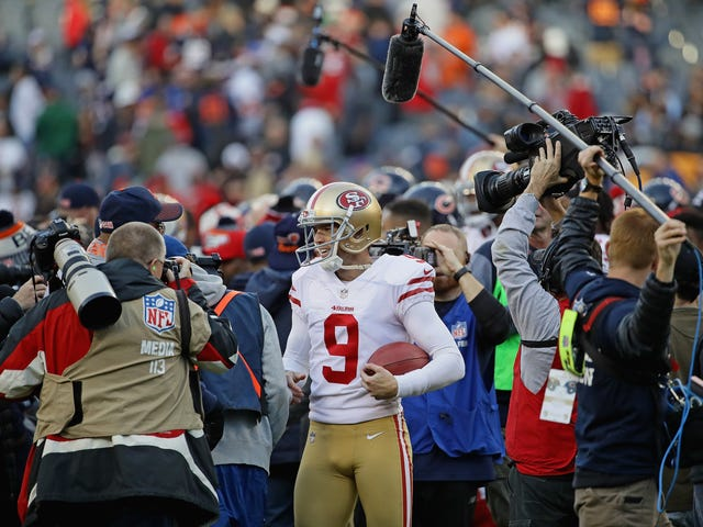 Robbie Gould, The Best Kicker In Bears History, Was At Their Playoff Loss