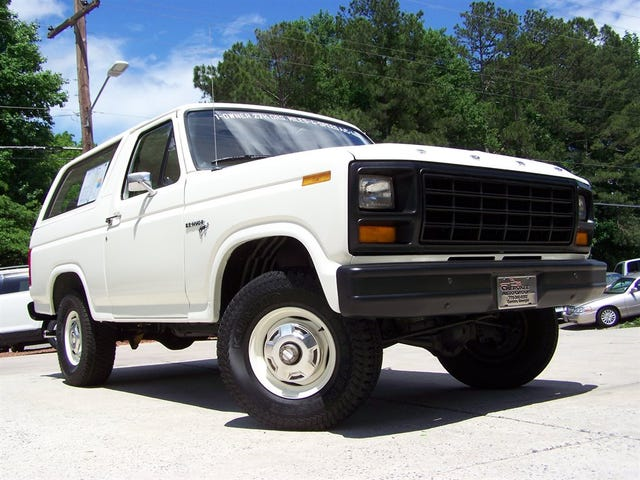 On the subject of low mile SUV's
