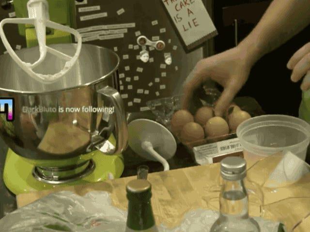 Die Reise eines Berufskellners zum Kochen des Kochsterns