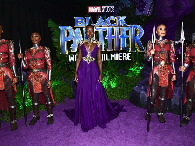 All the Black People at the Black Panther Premiere Looked SPECTACULAR!
