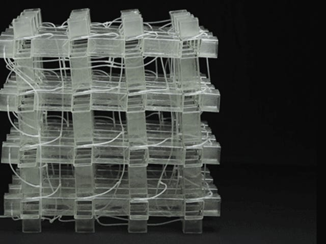 New Material Can Fold From Full 3D to Flat All By Itself