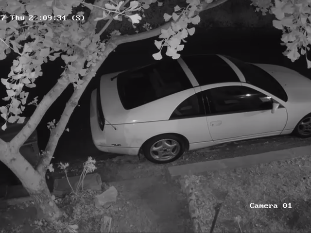 *Checks security camera to make sure car is still there*
