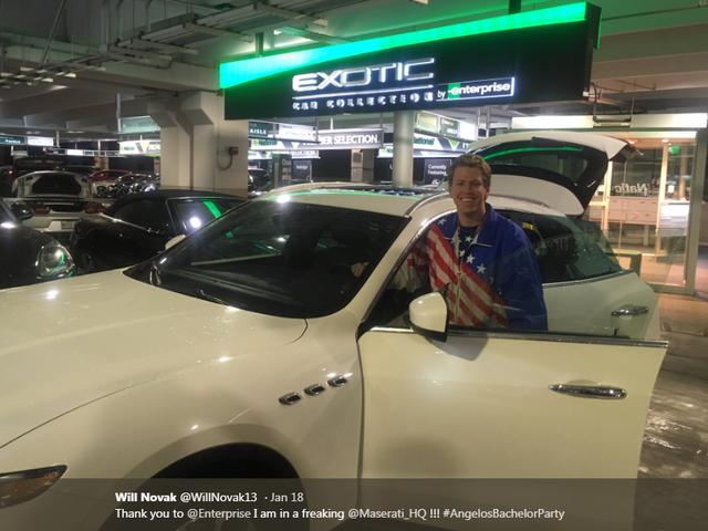 Den sunde historie, vi har brug for lige nu, med en Maserati Levante