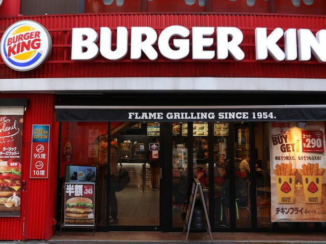 Tokyo BK can't say goodbye to rival McDonald's without a little trolling