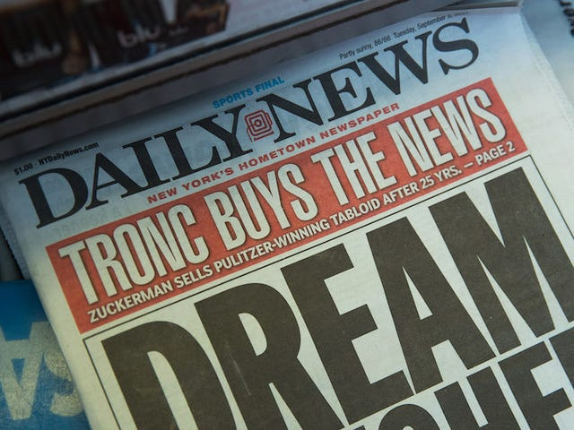 The New York Daily News' Sports Staff Has Been Gutted