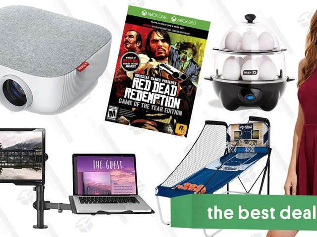 Sunday's Best Deals: Party Games, Projectors, Red Dead Redemption, and More