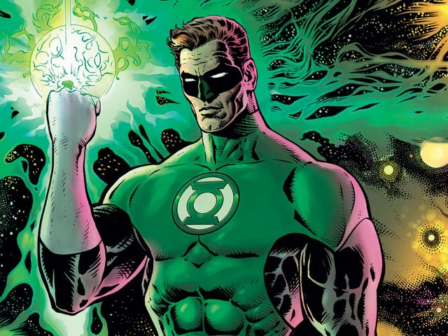 The Green Lantern is an ambitious course correction for DC's space cops