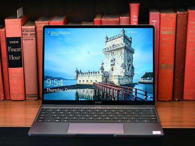 El Nuevo Huawei MateBook 13 er en uendelig muy duro al trono del MacBook Air