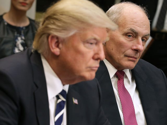 Trump's Chief of Staff, John Kelly, May Have Worn Out His White House Welcome: Report