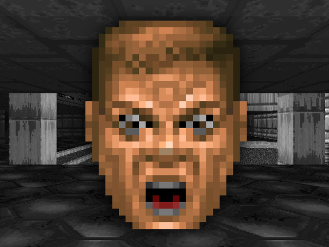 The Weird Story Behind <i>Doom's</i> Rare &quot;Ouch Face&quot;