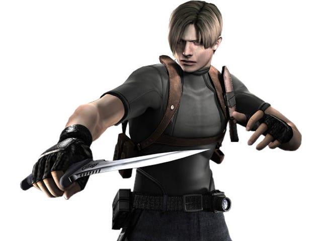 Resident Evil 4 Player, 0 % 정확도로 게임을 완료