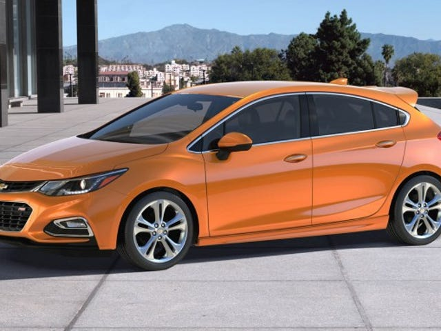 "Performance Chevy Cruze Must Be Called the Cruze ""MI"""