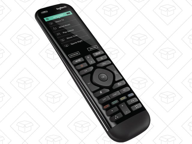 Command All Of Your Electronics With Logitech's Harmony Advanced Remote