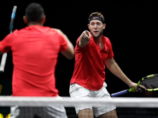 Jack Sock Blasts To Forehands