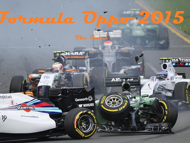 Formula Oppo 2015: The Rules