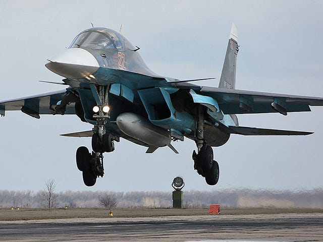 Jordan May Be Looking To Buy An Export Variant Of Russia's Su-34 Fullback Fighter-Bomber