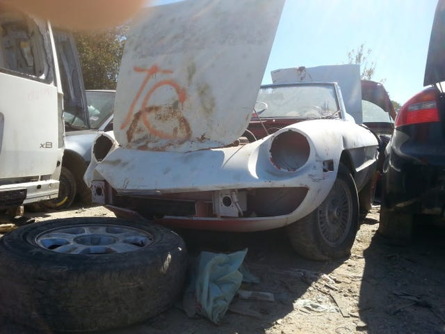 So you guys might remember my junkyard escapades about a year ago