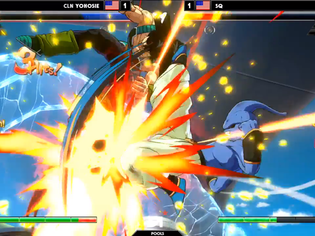 Dragon Ball FighterZ Player Stages Comeback From Sliver Of Health