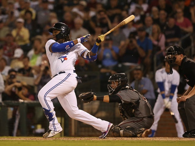 Let Vlad Guerrero Jr. Stay Thick For A Little While