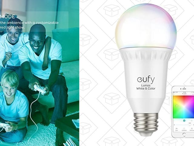 Upgrade to Anker Smart Light Bulbs Starting at $14 Each