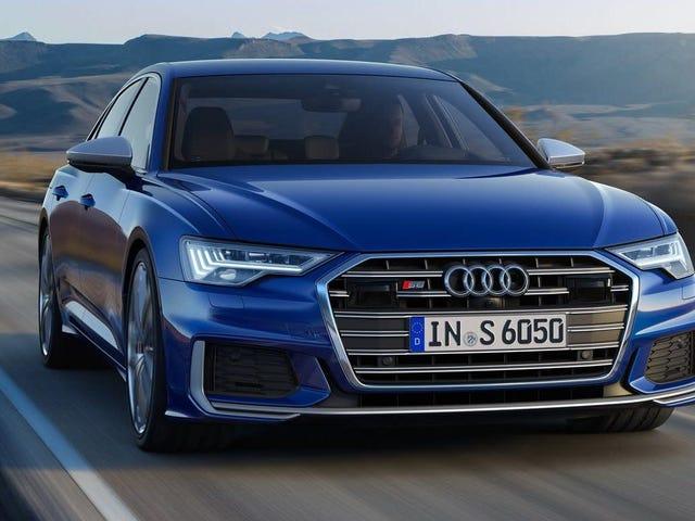 Το Audi S6 του 2020 μόλις έδωσε την προσπάθεια να κρύψει τους αισθητήρες οδήγησης