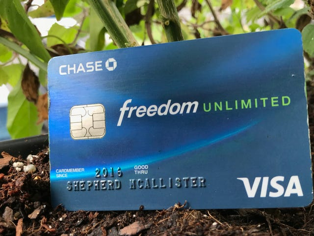 Chase's Freedom Unlimited is Your Rewards Credit Card For Everything Else