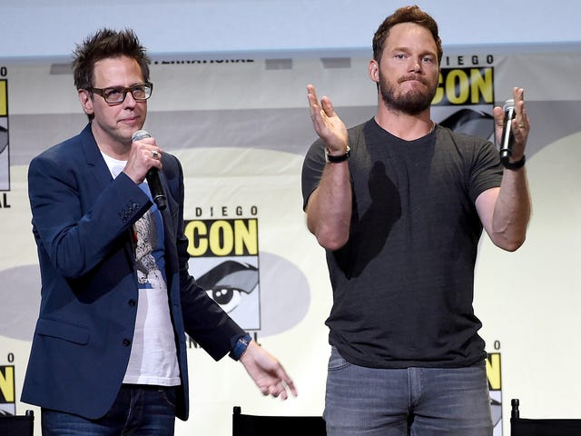"Chris Pratt confirms that Disney is using James Gunn's ""off the chain""Guardians 3script"