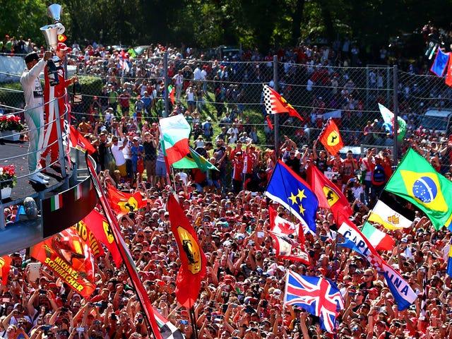 F1 підписує справу, щоб звільнити свій найбільш історичний італійський трек