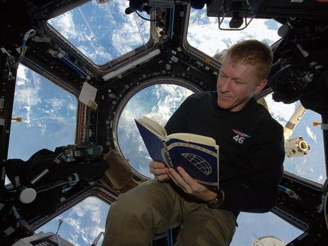 Peake will read a 200-mile high bedtime story