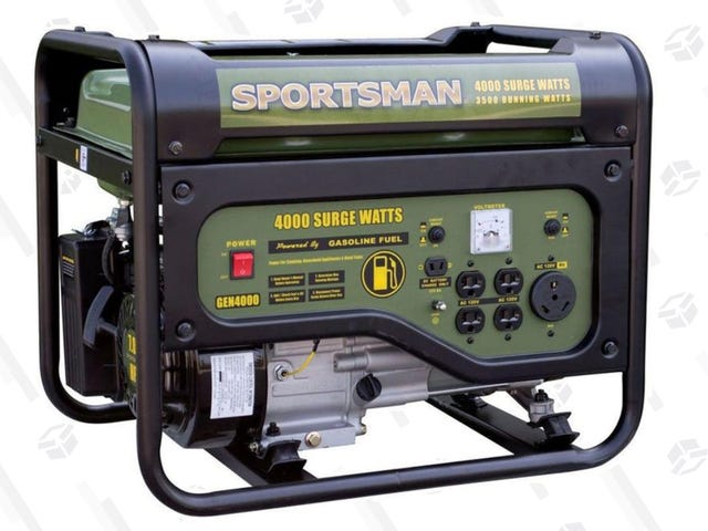 Get Through For Tailgating/Hurricane Season With This $239, 4,000W Generator