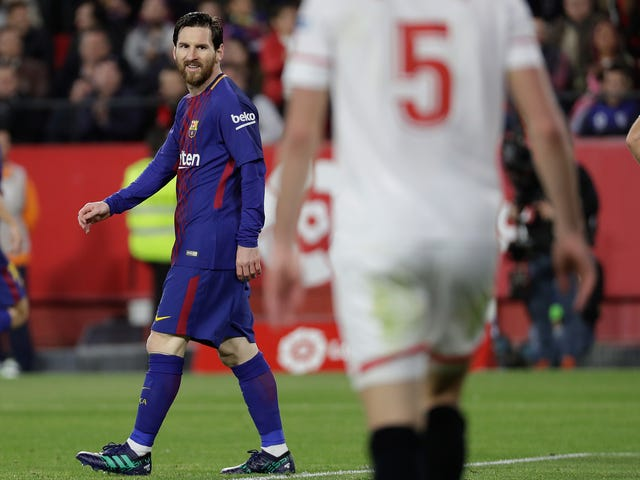 Messi Came Off The Bench To Stroll Around, Keep Barcelona Undefeated