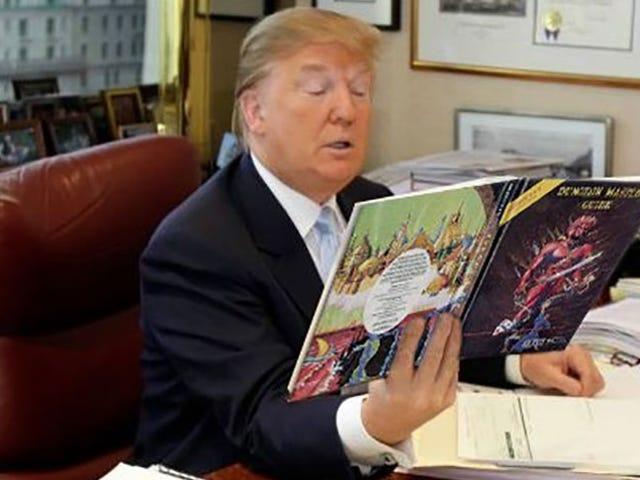 Donald Trump Gumagawa ng <i>Dungeons & Dragons</i> Mahusay Muli