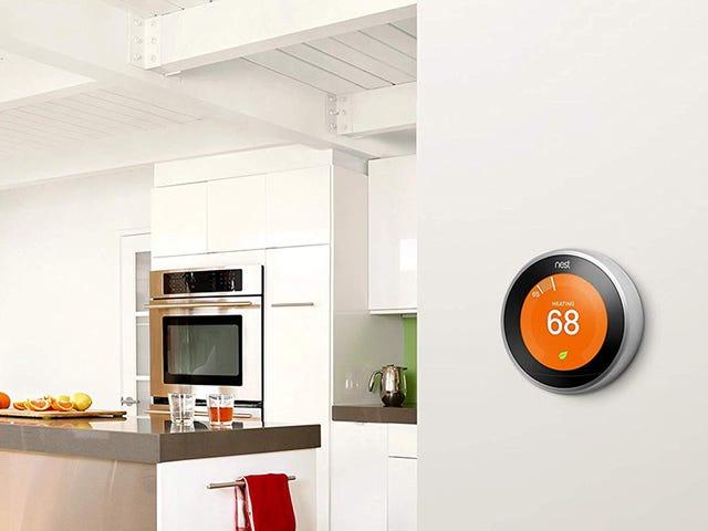 Meningkatkan Rumah Anda Dengan Termostat Pembelajaran Nest Nest Untuk Hanya $ 140