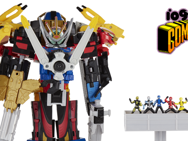 Din första titt på Hasbros Gigantic Power Rangers: Beast Morphers Ultrazord Set