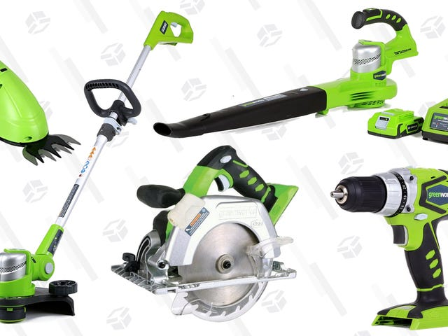 Make Yard and House Work a Little Easier With This One-Day GreenWorks Sale