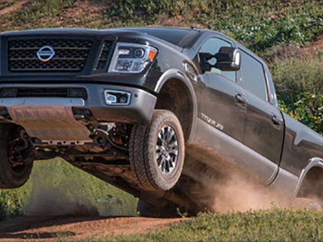 Now This Is How You Turn The New Nissan Titan Into A Real Off-Roader